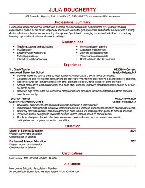 1 page resume format for freshers yun56co sample resume template