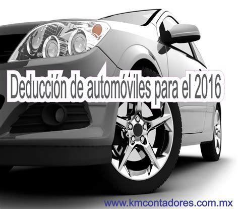 deduccin arrendamiento puro de automviles 2016 monto deducible de autos km consultores consultores
