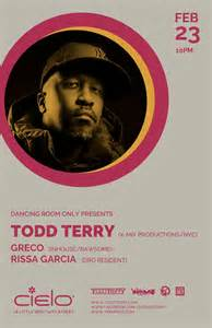 Rissa Set ra room only with todd terry house classic house