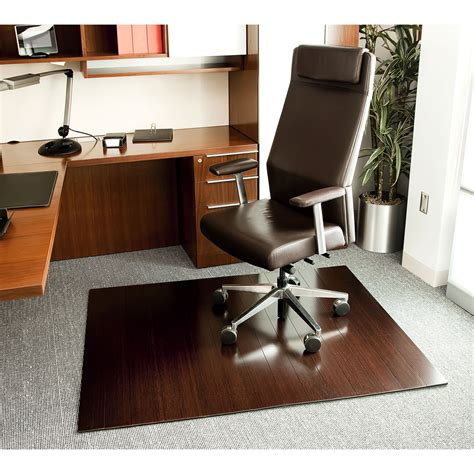 Mat For Rolling Chair by Cherry Bamboo Roll Up Office Chair Mats With 4 Inch Slat By Anji Mountain In Chair Mats