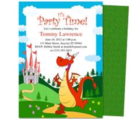 printable birthday invitations dragons 1000 images about kids birthday party invitation