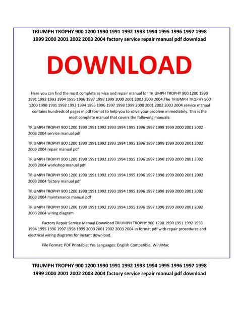 service manual repair manual download for a 1997 dodge ram 3500 club repair manual download triumph trophy 900 1200 1990 1991 1992 1993 1994 1995 1996 1997 1998 1999 2000 2001 2002 2003