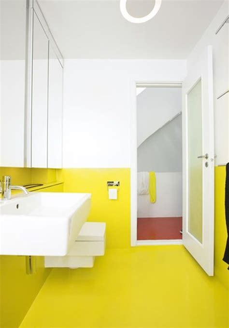 bright yellow bathroom bright not yellow bathroom paint house furniture