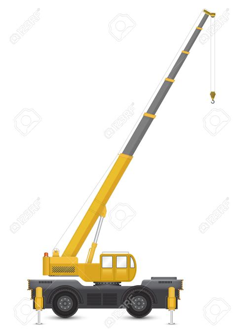 crane mobile crane clipart mobile crane pencil and in color crane