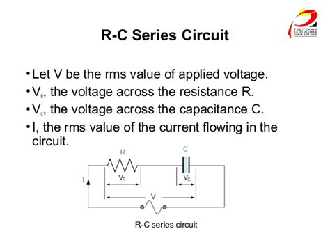 voltage drop across two capacitors in series voltage across capacitor in series lc circuit 28 images alternating current circuits ppt