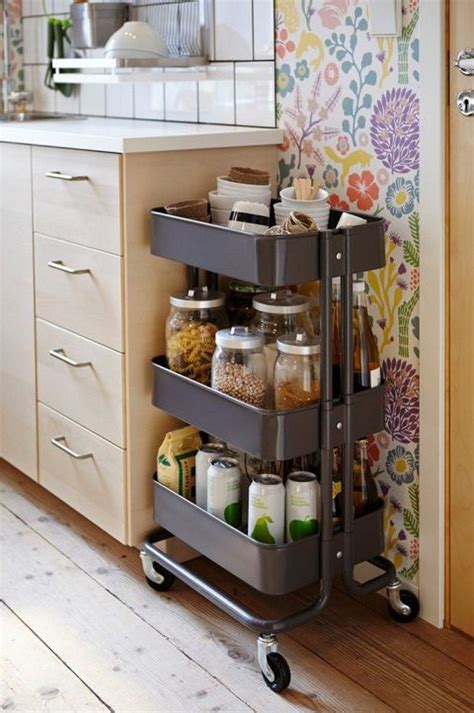 Need More Kitchen Storage by 12 Reasons Why You Need An Raskog Cart Diy Projects