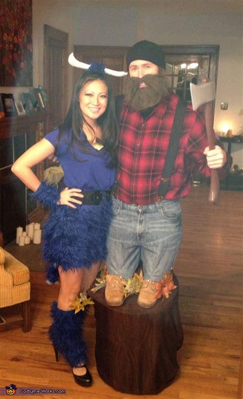 paul bunyan  babe  blue ox halloween costume