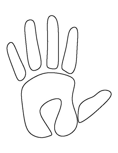 handprint template 227 best images about stencils templates etc on