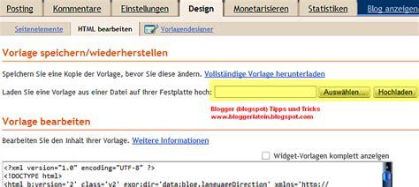 Template Vorlage Html Template Vorlage Design Bei Hochladen Bloggerlatein