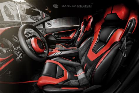 lamborghini custom interior carlex design modifies lamborghini gallardo