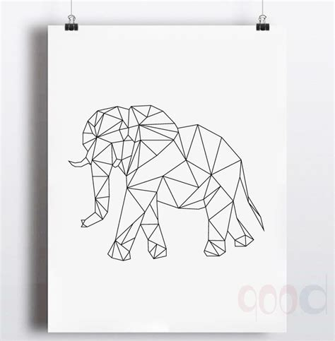 geometric elephant coloring pages 66 best coloring zoo images on pinterest geometric