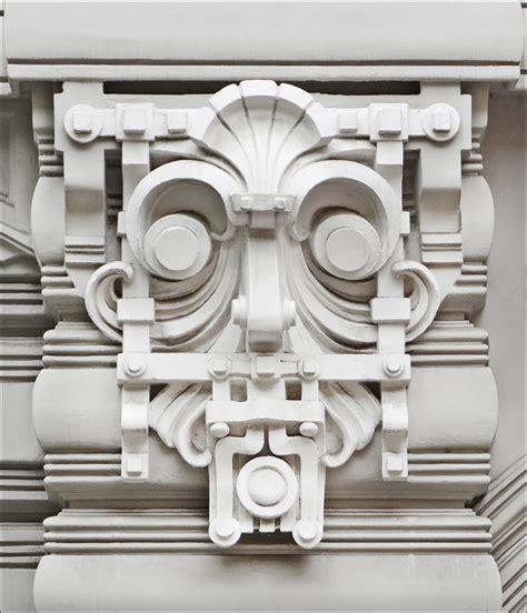 Oval immeuble art nouveau riga motif d 233 coratif de l