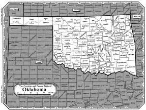 map of and oklahoma border all about genealogy and family history oklahoma family
