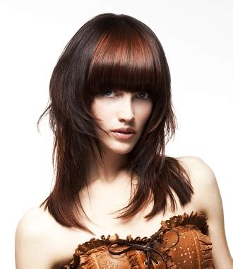 two layer haircut for two toned layered hairstyles