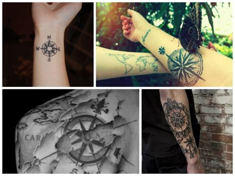 travel themed tattoos add a caption we it and travel