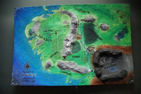 3d map of middle earth middle earth map wallpapers wallpaper cave