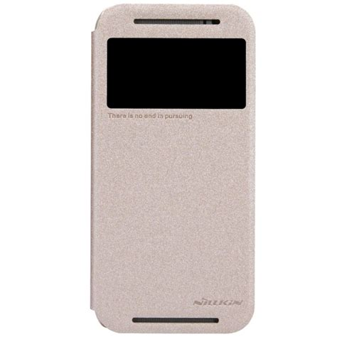 Nillkin Sparkle Leather For Htc One M8 Putih htc one m8 flip nillkin sparkle gold