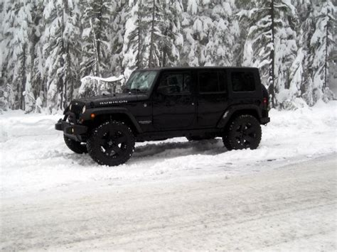 jeep wrangler snow tires my project jk com jeep in snow powered by photopost
