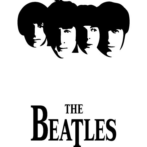The Beatles Black Logo beatles logo beatles symbol meaning history and evolution