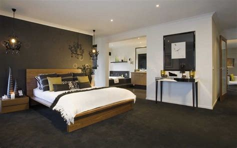 image result  dark brown carpet master bedroom white