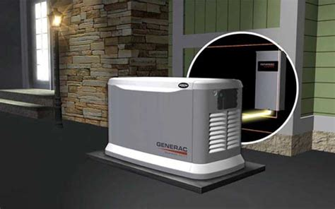 how does a generac home backup generator work