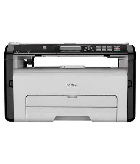 Printer Laser Jet Ricoh ricoh sp 210su multifunction laser printer print scan and copy buy ricoh sp 210su