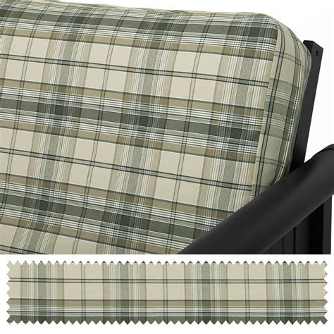 plaid coverlet fern denim plaid custom coverlet