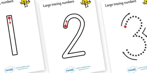printable numbers 1 10 twinkl twinkl resources gt gt large tracing numbers straight 1