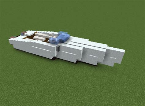 how to make a speed boat in minecraft pe speedboat grabcraft your number one source for