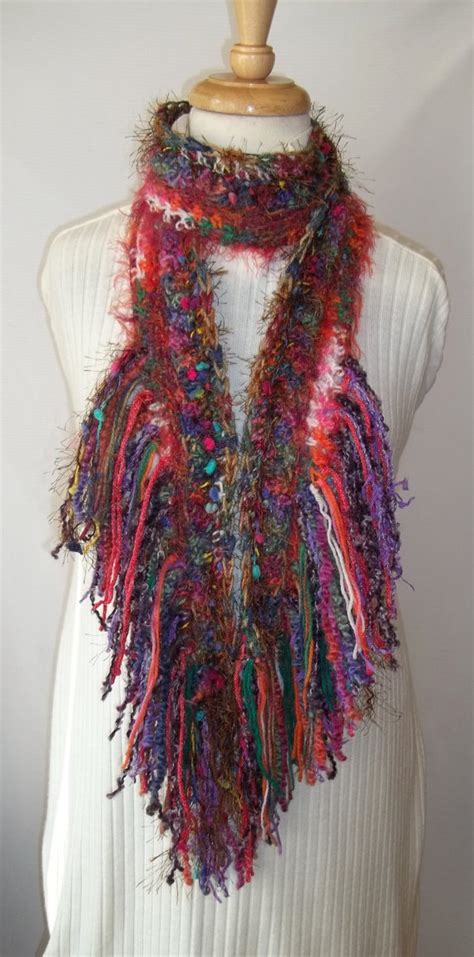 Handmade Crochet Scarf - 17 best images about crochet scarves cowls on