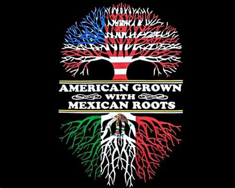 quot american grown with mexican roots quot t shirt