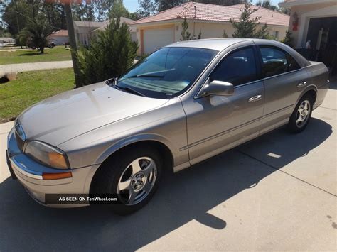 2001 lincoln ls base sedan 4 door 3 0l