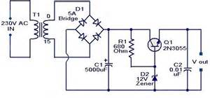 Trafo 10a O 6v 30v schema electronique electrique montage realisation