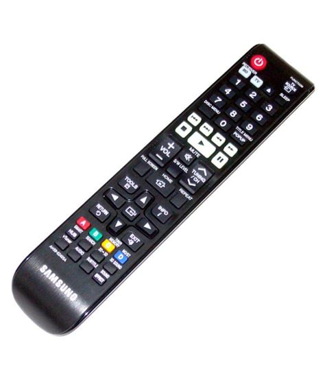 Samsung Universal Remote Buy Samsung Ah59 02405a Universal Remote Compatible With Samsung Home Theatre At