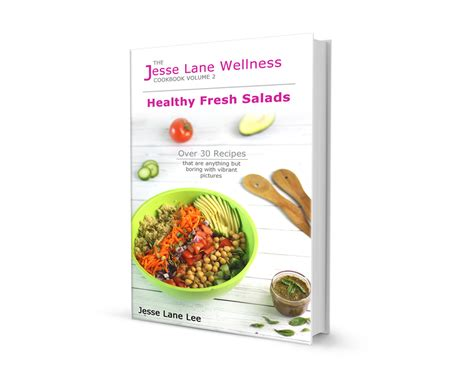healthy fresh salad cookbook review giveaway snacking