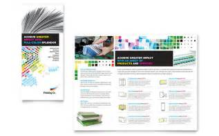 Print Brochure Templates by Printing Company Brochure Template Design