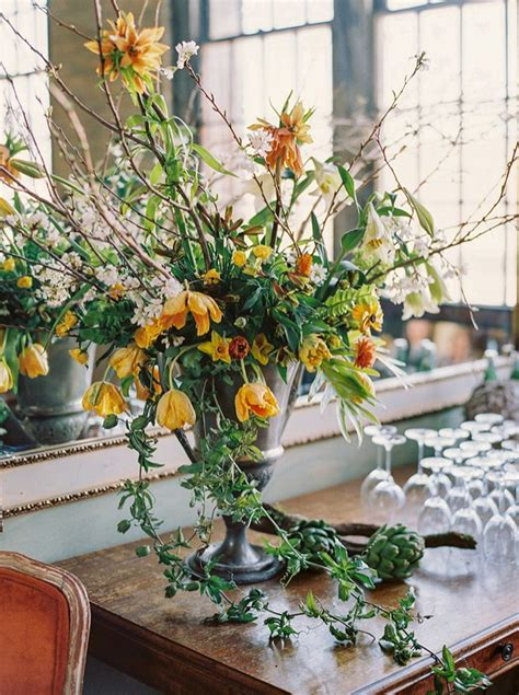 colorful wedding flowers inspired   dutch masters