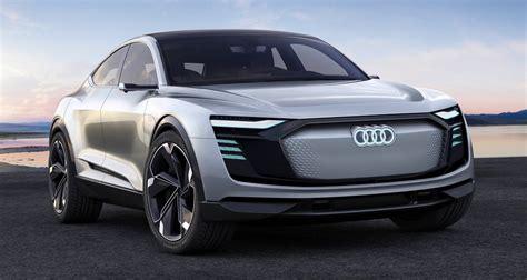 audi  tron sportback concept revealed