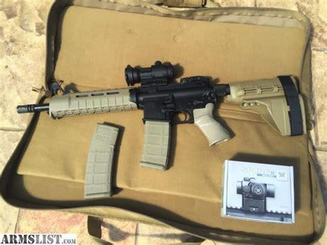 ar15 pistol fde with sig sauer sb15 pistol brace and noveske kx3 pig armslist for sale sig sauer 11 5 quot ar 15 pistol pm400