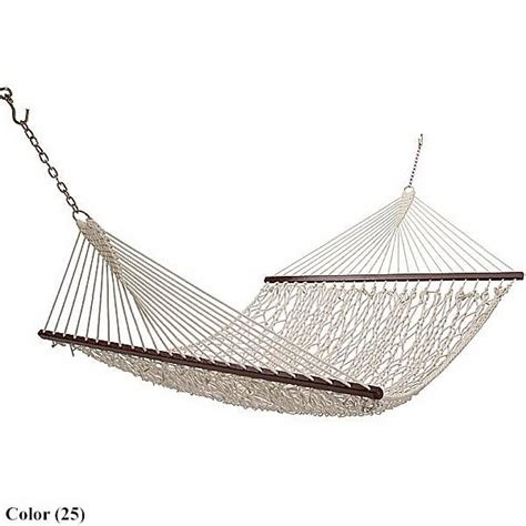 Cotton Hammock Tropical Island Hammocks Cotton Hammock 99455 Save 65