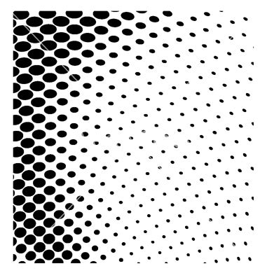 halftone dot pattern vector 11 free vector halftone dot pattern images free vector