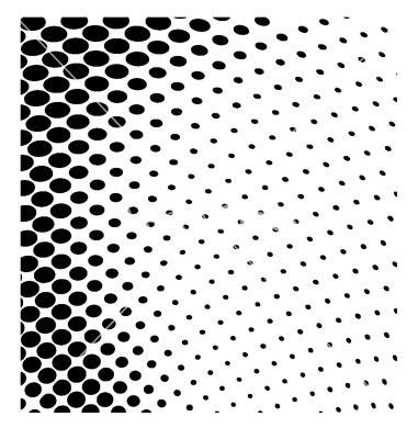 dot halftone pattern vector 11 free vector halftone dot pattern images free vector