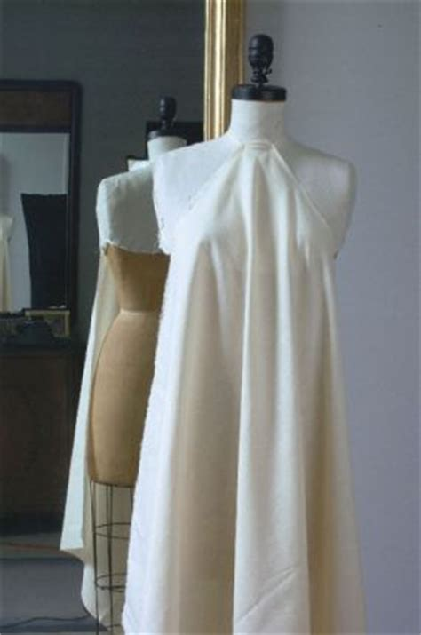 draping fabric on dress forms hands on with kleibacker lessons for working with a bias