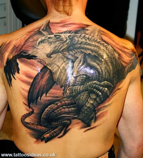 dragon tattoo on back meaning dragon tattoos meanings and pictures tattoos ideas