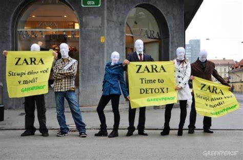 Della Martin Detox by Zara Cede A Greenpeace E Si Impegna A Non Inquinare