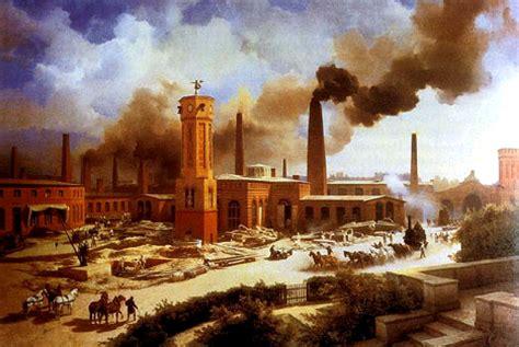 las primeras ciudades de la industria trazados cuadros sin 243 pticos sobre la revoluci 243 n industrial o