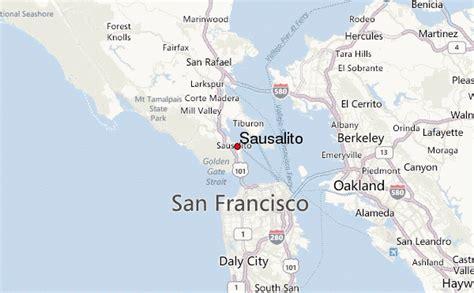 sausalito map gu 237 a urbano de sausalito