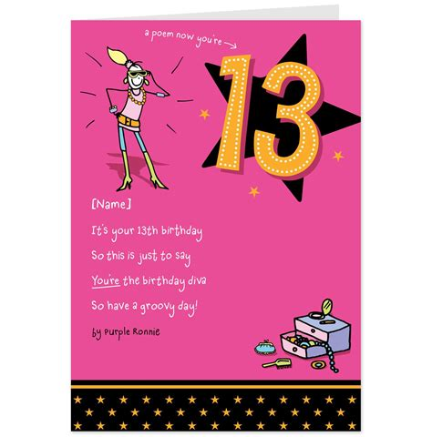 how to make a birthday card for 13 birthday card messages alanarasbach