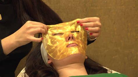 Masker Bubuk Emas Mask Gold 24k secret to youth gold mask treatment