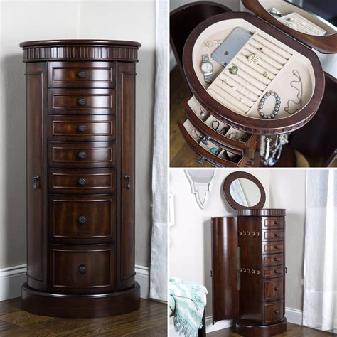 vintage jewelry armoire bailey jewelry armoire antique walnut hives and honey
